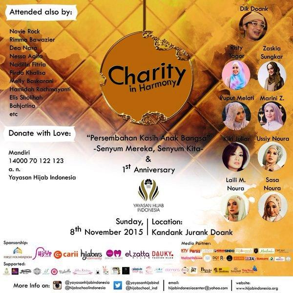 Charity-In-Harmony-Dik-Doank-Yayasan-Hijab-Indonesia-Kandank-Jurank-November-2015