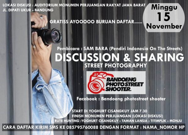 Discussion-Sharing-Bandoeng-PhotoStreet-Shooter-Street-Photography