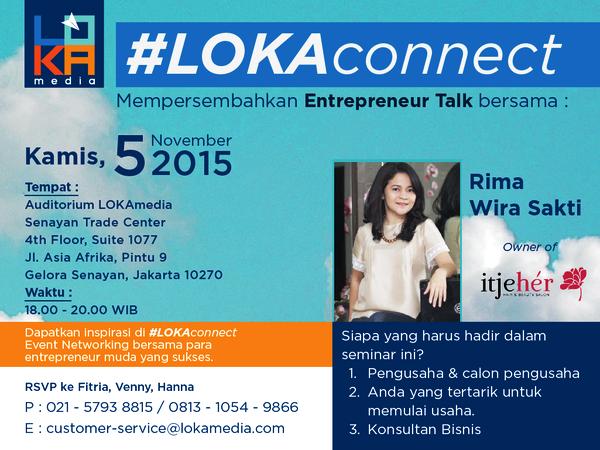 Entrepreneur-Talk-#LOKAconnect-Bisnis Hair-dan-Beauty-Salon-itjeher-November-2015
