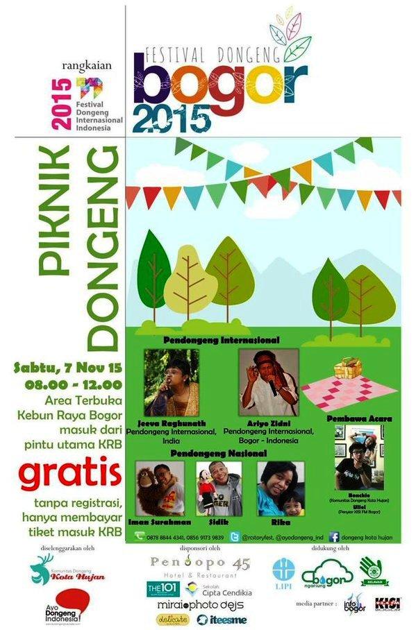 Festival Dongeng Bogor 2015