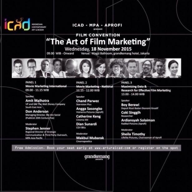 Konferensi-Film-ICAD-Marketing-Grandkemang-Hotel