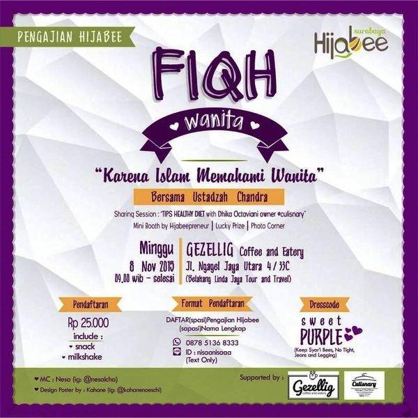 Pengajian-Fiqh-Wanita-Hijabee-Surabaya-November-2015