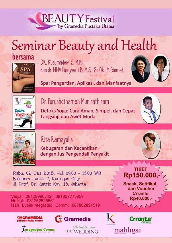 Seminar-Beauty-And-Health-Gramedia-Festival-Kuningan-City