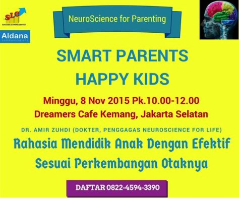 Seminar-NeuroScience-For-Parenting-Dreamers-Cafe-Kemang-November-2015