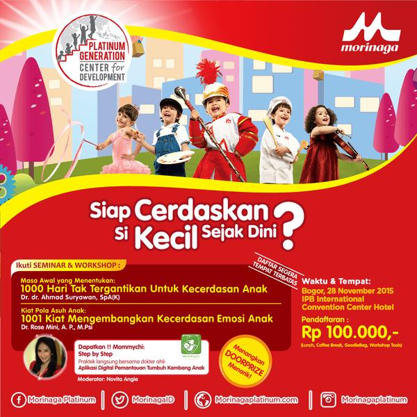 Seminar-Parenting-Morinaga-Platinum-IPB-International-Convention-Center &-Hotel-Botni-Square-Bogor-November-2015