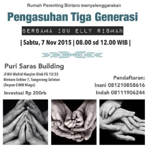 Seminar-Rumah-Parenting-Bintaro-Elly-Risman-7-November-2015
