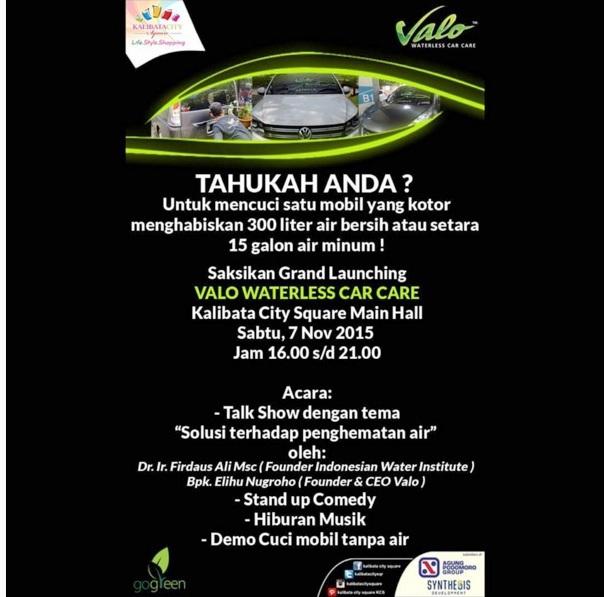 Talkshow-Cuci-Mobil-Tanpa-Air-Grand-Launching-Valo-Waterless-Car-Care-Kalibata-City-Square-November-2015