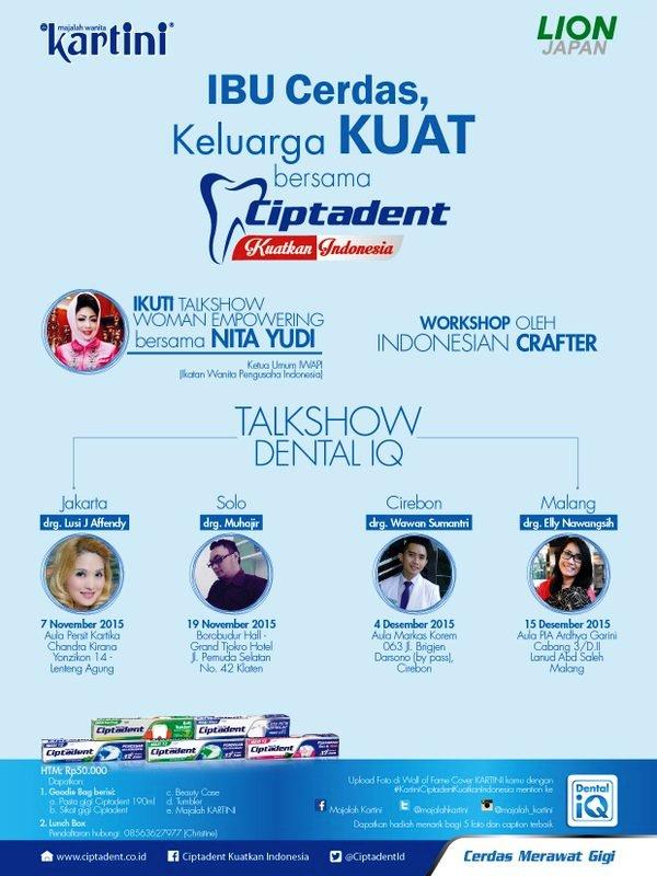 Talkshow-Ibu-Cerdas-Keluarga-Kuat-Ciptadent-Kartini-Yonzikon-14-November-2015-iwapi