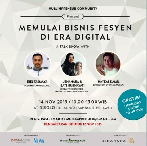 Talkshow MuslimPreneur Community