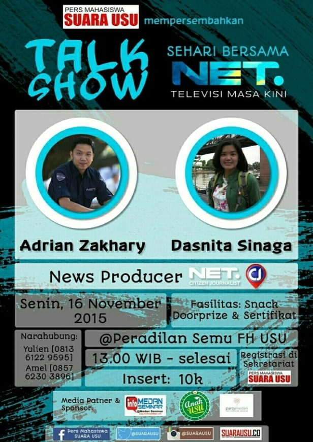 Talkshow-Sehari-Bersama-NET.-TV-Medan-USU-November-2015