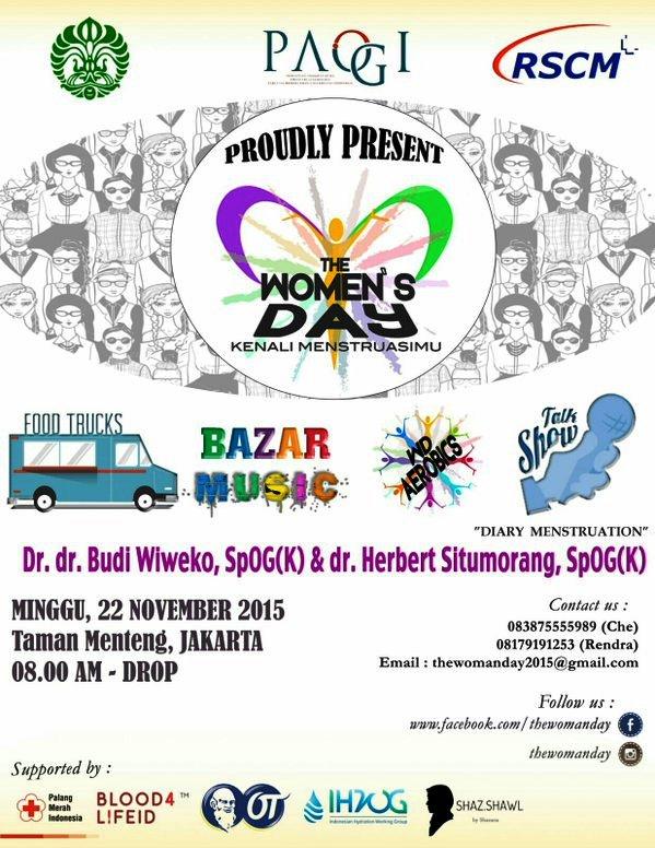 THE-WOMEN'S-DAY-Mentruasi-Taman-Menteng-November-2015