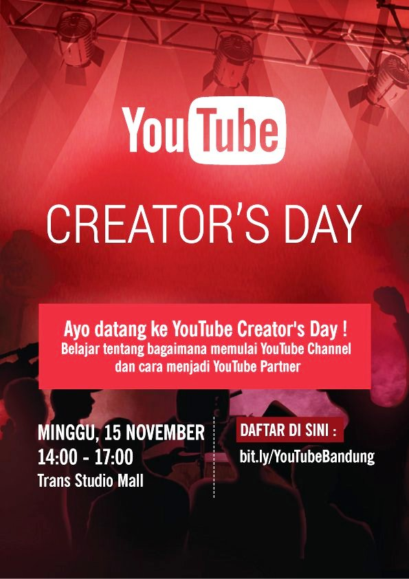YouTube-Creator's-Day-Trans-Studio-Mall-Bandung-November-2015