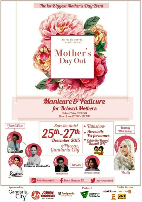 BORN-Beauty-Mother-Day-Out-Beauty-Workshop-Piazza-Gandaria-City-Desember-2015