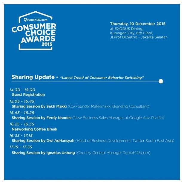 Consumer-Choice-Awards-2015-rumah123.com-EXODUS-Dining-Mall-Kuningan-City-Desember-2015