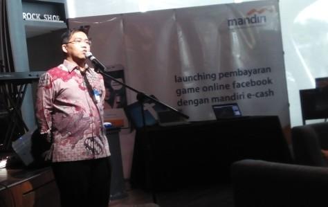 Rico Usthavia Frans, Senior Executive Vice President Transaction Banking Bank Mandiri