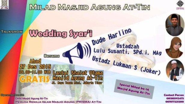 Milad-AT-TIIN-Talkshow-Wedding-Syar'i-Dude-Harlino-Desember-2015
