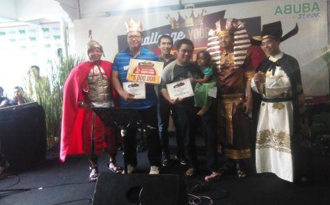 Pak Julhan Bermahkotakan Juara Wagyu Eating Competition dan Berhak Atas Uang 5 Juta | Dokumentasi Pribadi