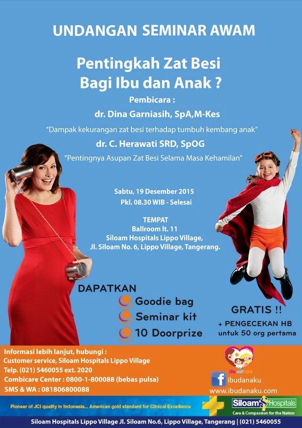 Seminar-Awam-Siloam-Hospital-Zat-Besi-Siloam-Tangerang-Combicare