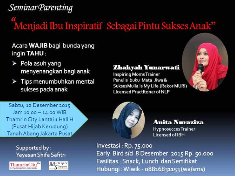 Seminar-Parenting-Thamrin-City-Desember-2015