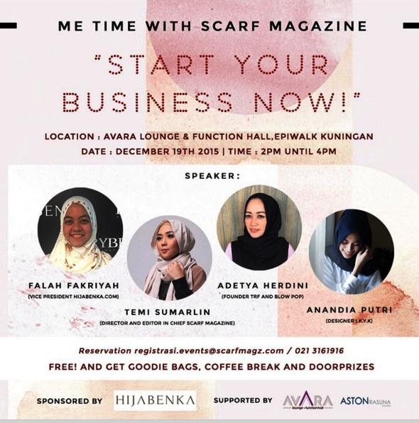 Talkshow-ME-TIME-Scarf-Magazine-Hijabenka-Desember-2015-Epiwalk