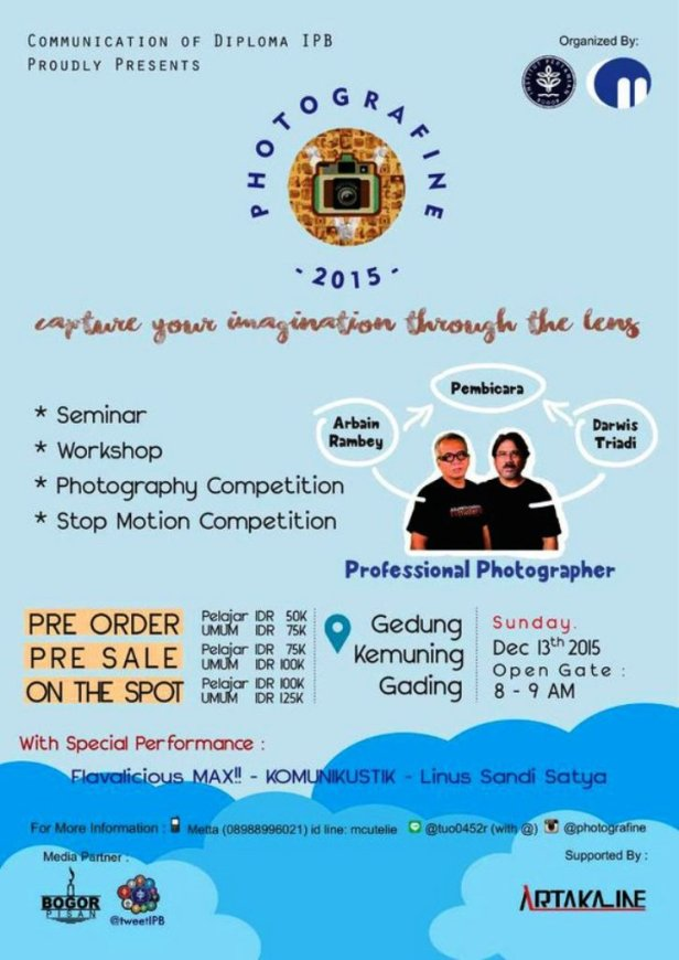 Workshop-Photografine-IPB-Bogor-Arbain-Rambey-Darwis-Triadi-Desember-2015