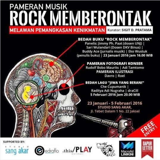Bedah-Buku-Musik-Rock-Memberontak-DapurLetter-Studio-Sang-Akar-Twebet-Jakarta-Januari-2016