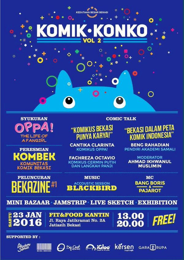Comic-Talk-KOMBEK-Kedutaan-Besar-Bekasi-Oppa!-Januari-2016-Fit-Food