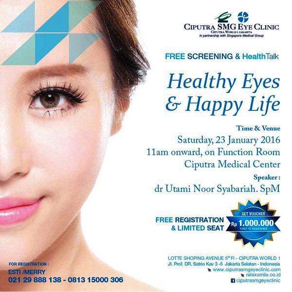 Health-Talk-Ciputra-Eye-Clinic-Medical-Center-Jakarta-Januari-2016-Screening