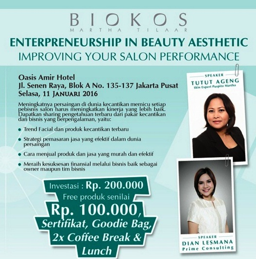 Seminar-Beauty-Salon-Biokos-Puspita-Martha-Martha-Salon-Beauty-Oasis-Januari-Jakarta-2016