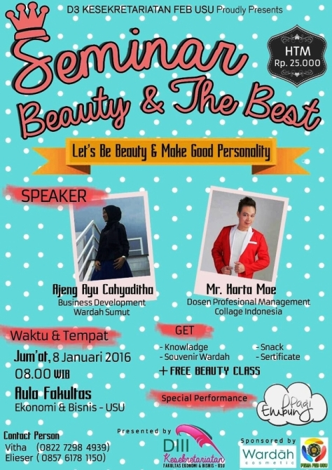 Seminar-Beauty-The-Best-Class-Wardah-USU-Januari-2016