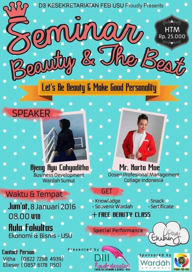 Seminar-Beauty-The-Best-Class-Wardah-USU-Januari-2016