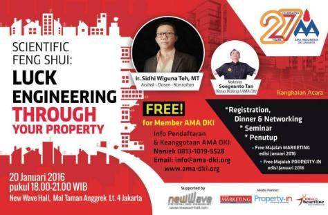 Seminar-Scientific-Feng-Shui-AMA-DKI-Property-Jakarta-Januari-2016