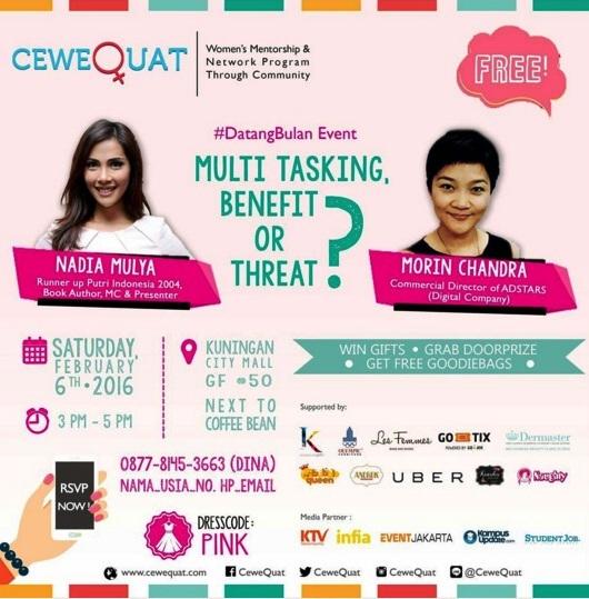 Talkshow-CeweQuat-DatangBulan-Multi-Tasking-Kuningan-City-2016