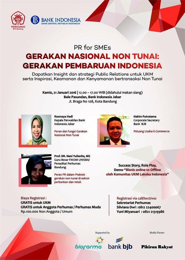 Talkshow-Gerakan-Nasional-Non-Tunai-UKM-Perhumas-Bank-Indonesia-Jabar-Bandung-Braga-Januari-2016