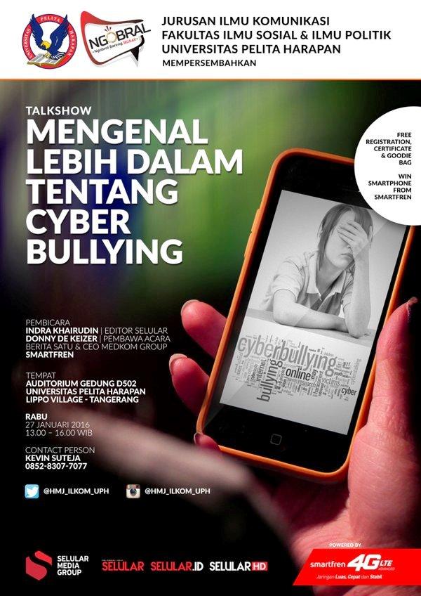Talkshow-NGOBRAL-Universitas-Pelita-Harapan-Cyber-Bullying-Donny-De-Keizer-Januari-2016
