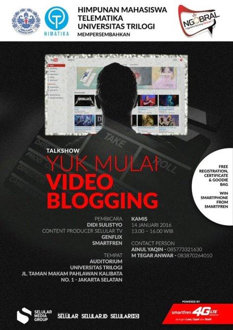 Talkshow-Video-Blogging-Selular-Universitas-Trilogi-Smartfren-Jakarta-Januari-2016