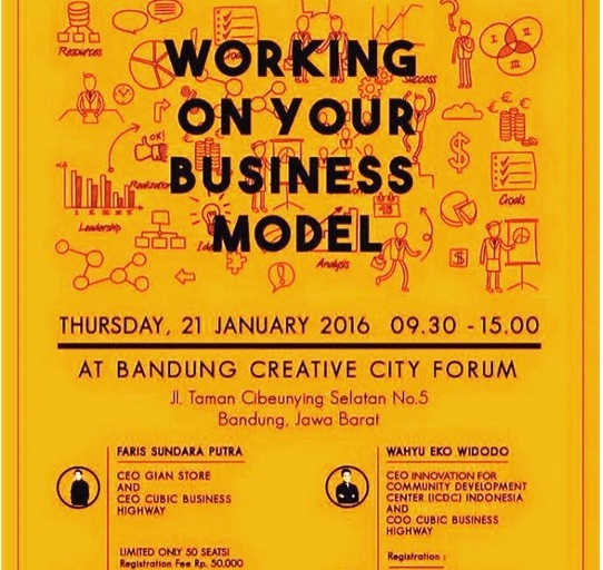 Workshop-CUBIC-Business-Highway-Business-Model-Bandung-Creative-City-Forum-Januari-2016