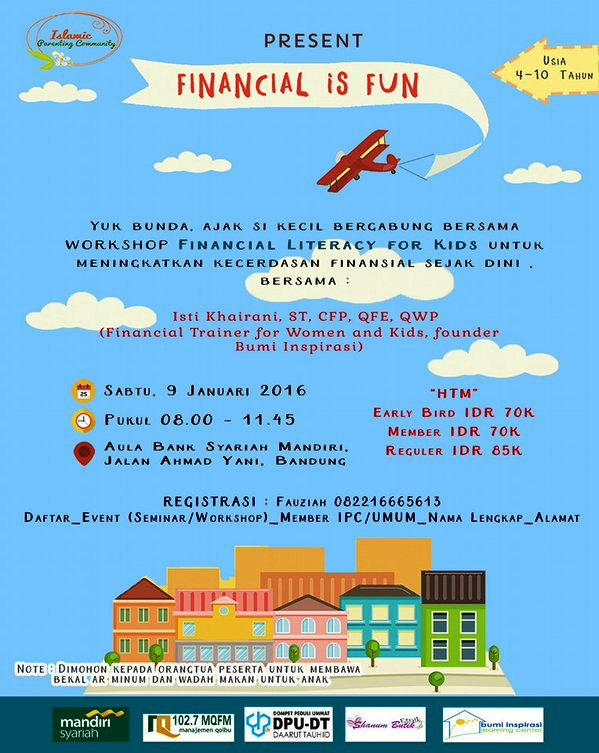 Workshop-Financial-Islamic-Parenting-Community-Bandung-Mandiri-Syariah-Januari-2016