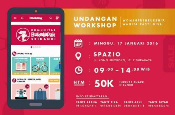 Workshop-Komunitas-Srikandi-Bukalapak-Bisnis-Online-Spazio-Surabaya-Januari-2016