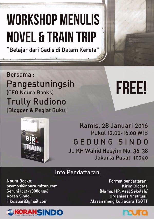 Workshop-Menulis-Sindo-Noura-Book-Jakarta-Januari-2016