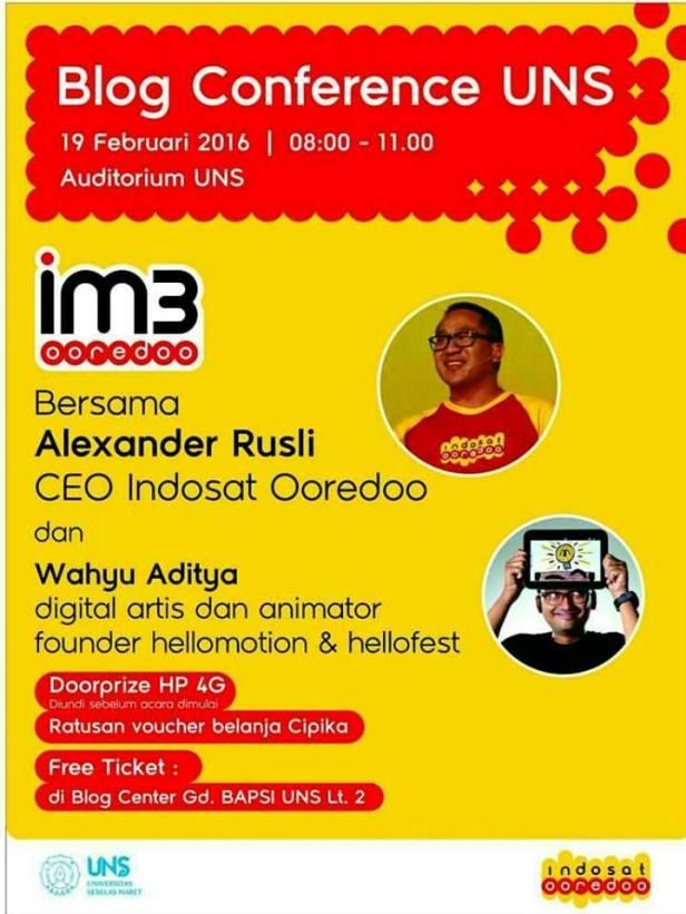 Blog-Conference-UNS-Alexander-Rusli-CEO-Indosat-Ooredoo-Wahyu-Aditya-Solo-Februari-2016