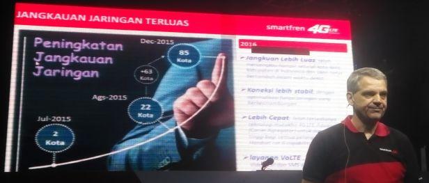 Christian Daiegnault, Chief Technical Officer PT Smartfren Telecom | Dokumen Pribadi