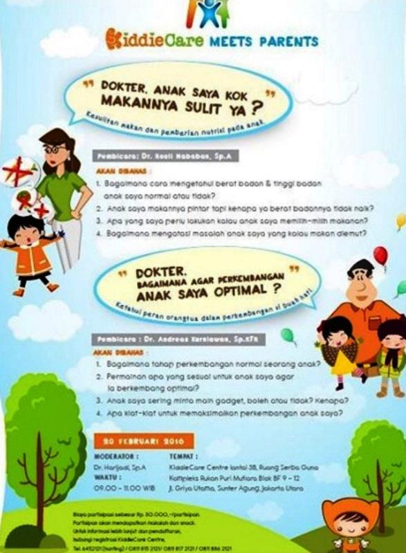 KiddieCare-Meet-Parents-Nutrisi-Pertumbuhan-Sunter-Jakarta-Februari-2016