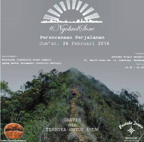 Ngobrol-Sore-Blogger-Travel-Pustaka-Tropis-Wanadri-Bandung-Februari-2016