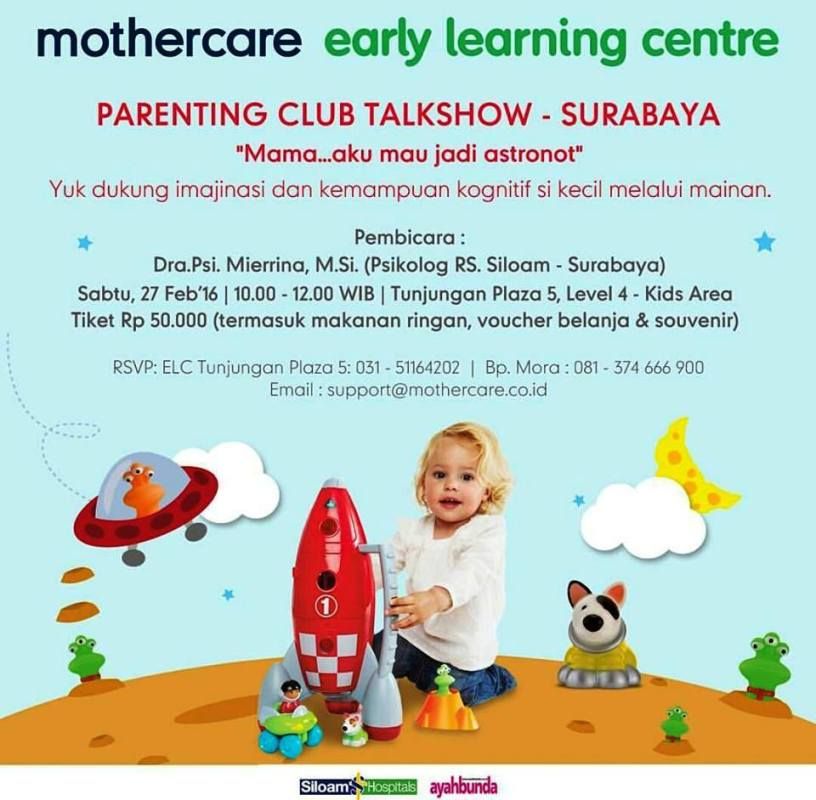 Parenting-Club-Talkshow-Early-Learning-Centre-Surabaya-Februari-2016