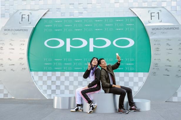 Rio haryanto & Isyana Sarasvati - Brand Ambassador OPPO F1