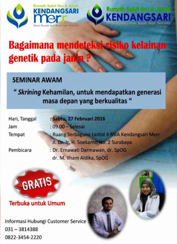 Seminar-Awam-Mendeteksi-Risiko-Kehamilan-Kendangsari-Merr-Surabaya-Februari-2016