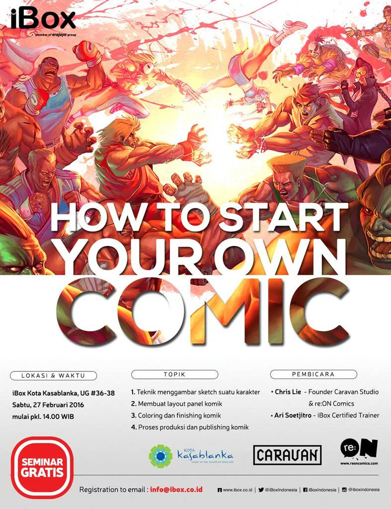 Seminar-iBox-Kokas-Caravan-re-ON-Start-Your-Own-Comic-Februari-2016