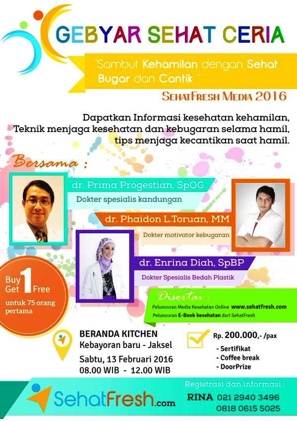 Seminar-Kehamilan-SehatFresh-Jakarta-Februari-2016