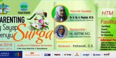 Seminar-Smart-Parenting-Astrie-Ivo-Makassar-Maret-2016
